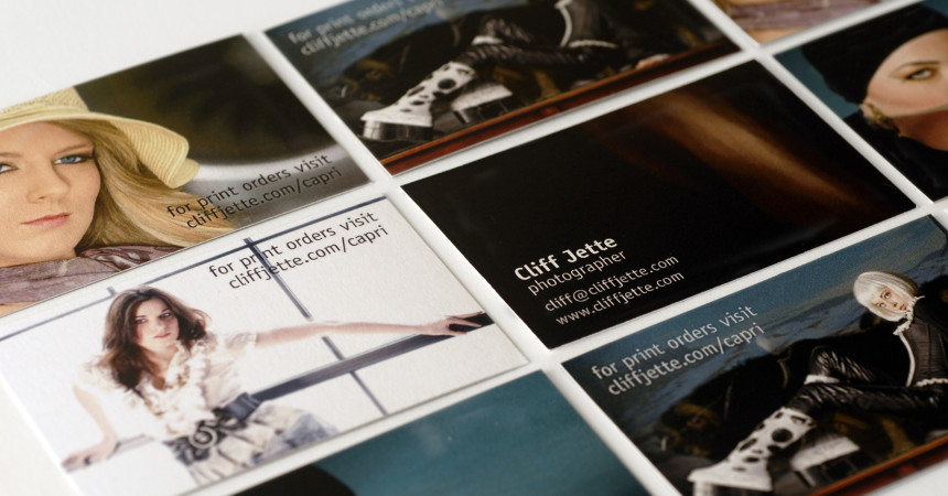 Business Cards for Cliff Jette