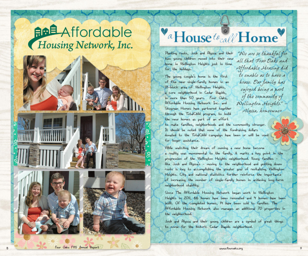 2015 Four Oaks Annual Report